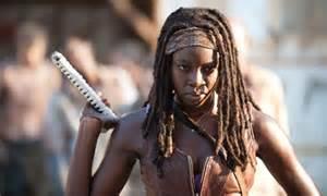 Walking Dead-Michonne