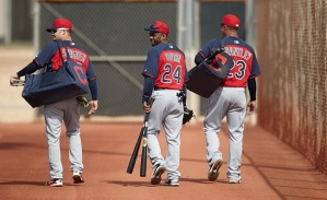 Can Michael Brantley rub off on Nick Swisher and Michael Bourn? I sure hope so.